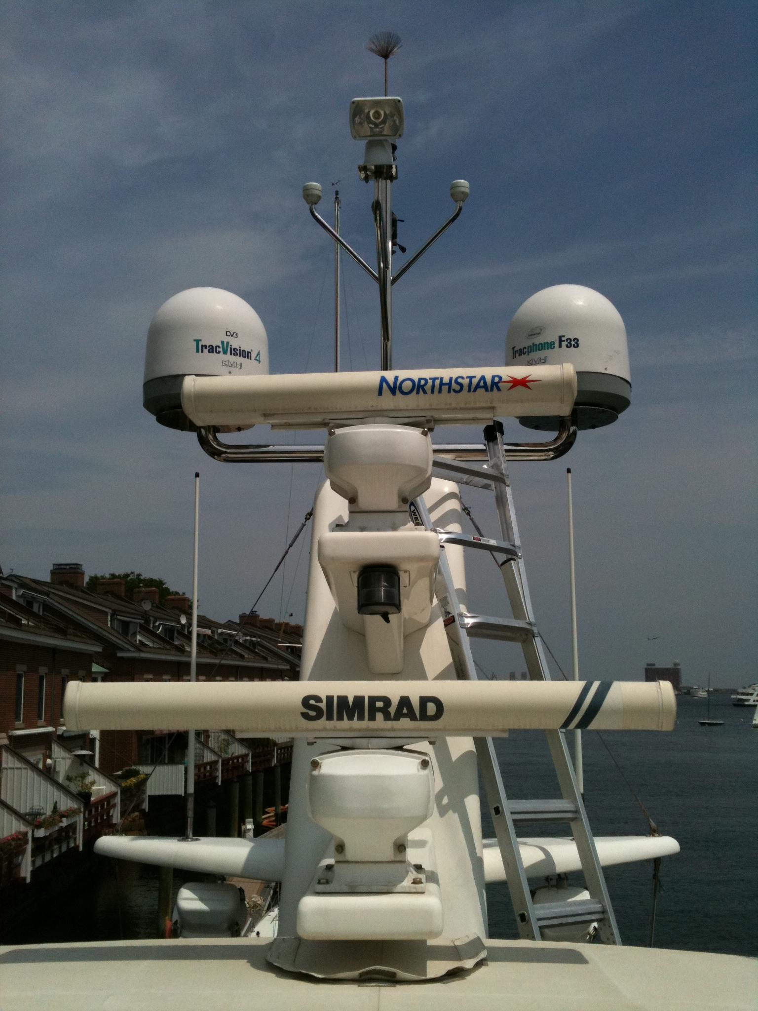marine electronics installation | The Boat Doctor's Photo